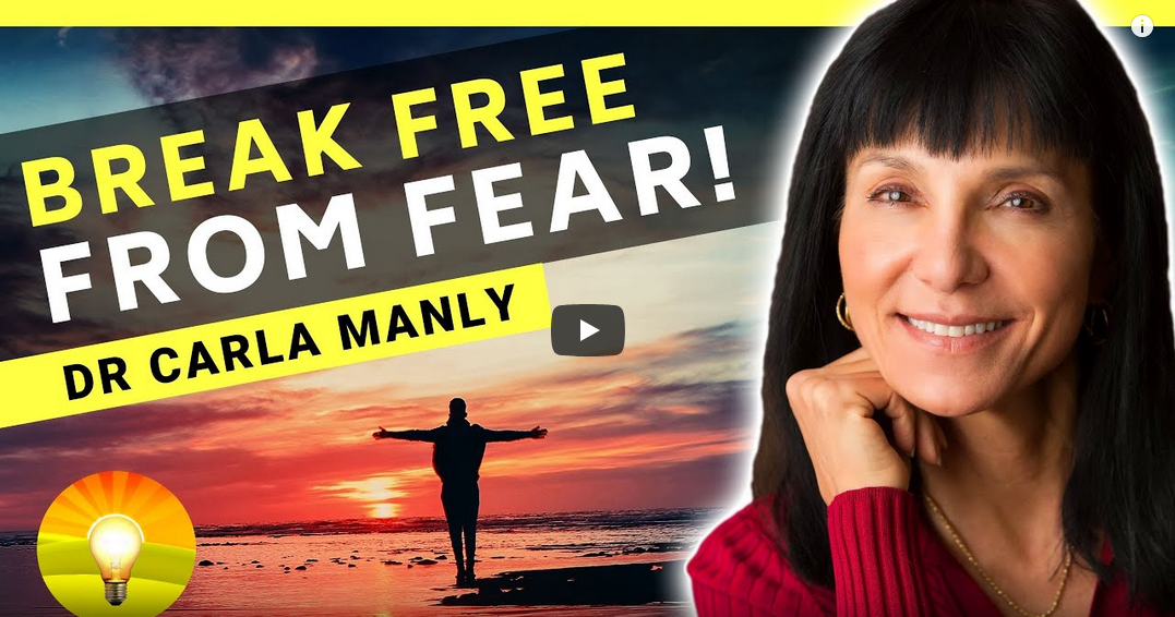 Break Free From Fear YouTube Podcast Video Title Picture