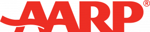 AARP Logo used on drcarlamanly.com to reference articles citing Dr Carla Manly like https://www.aarp.org/disrupt-aging/stories/info-2020/coronavirus-role-reversal.html